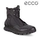 ECCO EXOSTRIKE 突破極限戶外運動高筒靴 米其林限定 男-黑