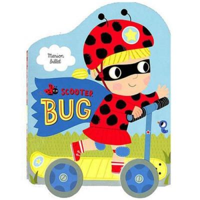 Scooter Bug 瓢蟲女孩的驚喜輪子轉轉硬頁書