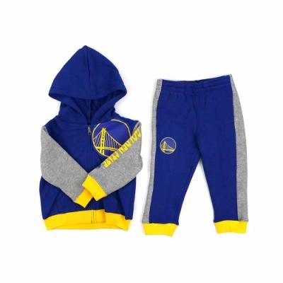 NBA 新生兒 長袖 運動套裝 勇士隊