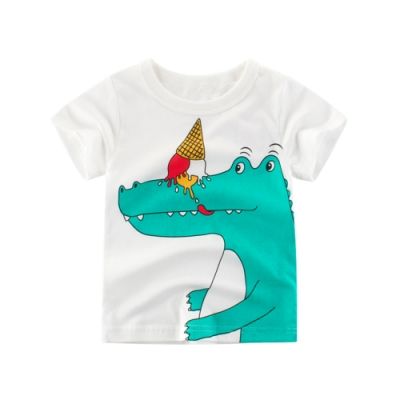 兒童 可愛鱷魚印花上衣  TATA KIDS
