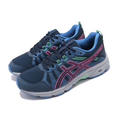 Asics 慢跑鞋 Gel-Venture 7 運動 女鞋