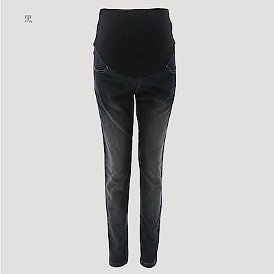 【ohoh-mini 孕婦裝】超激瘦美腿保暖丹寧孕婦長褲