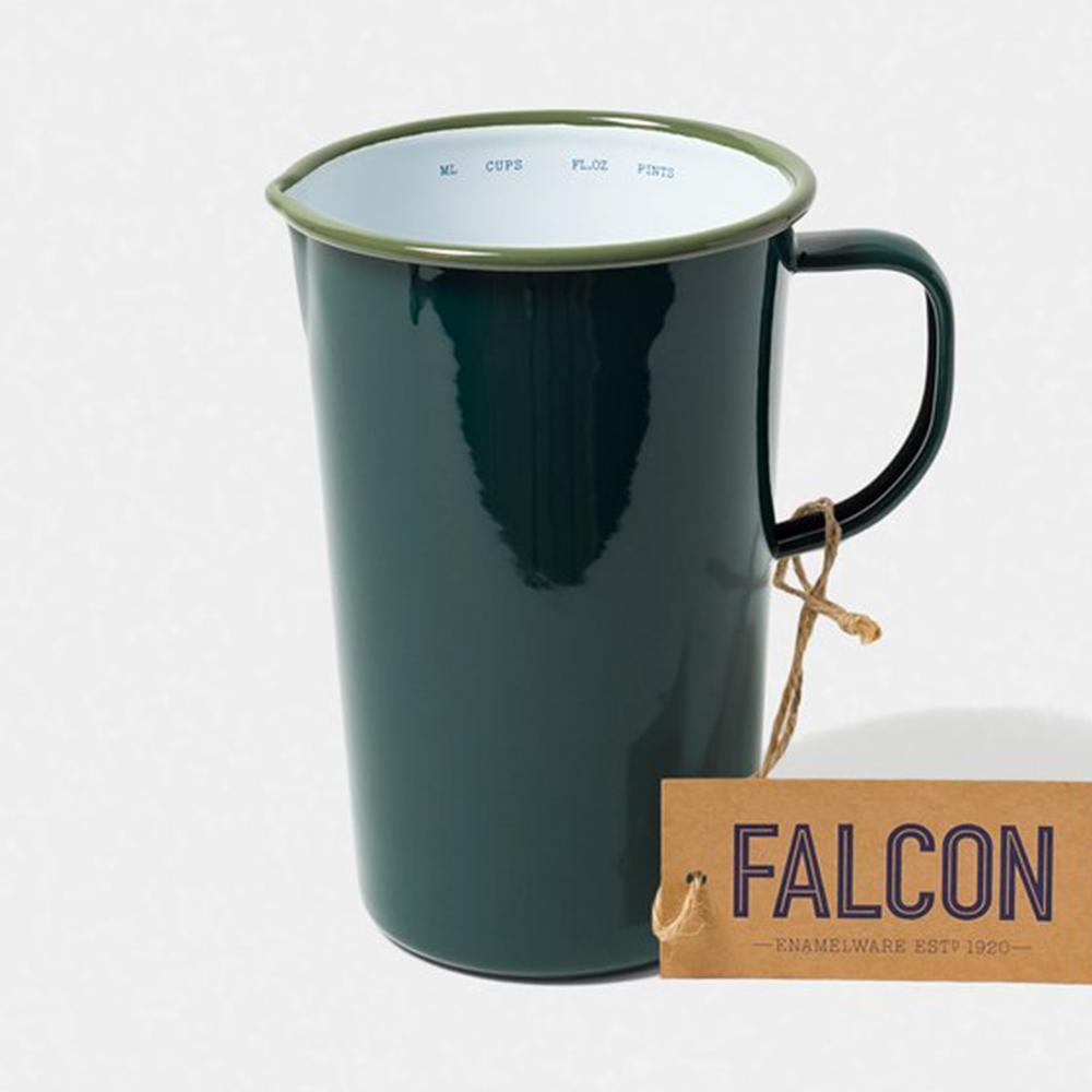Falcon 獵鷹琺瑯 琺瑯2品脫冷水壺 1.1L 茴香綠