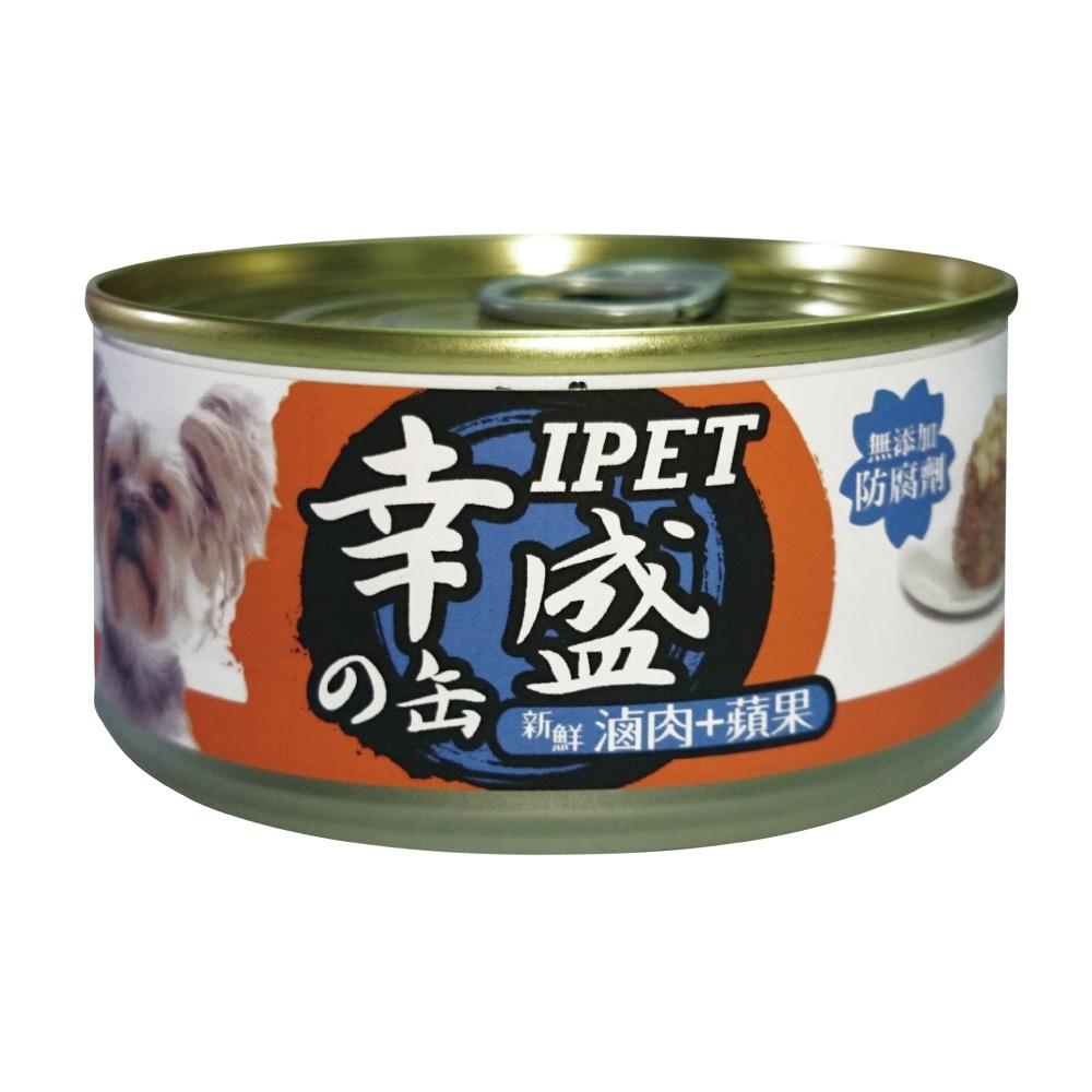 IPET 幸盛狗罐-滷肉+蘋果(110g/罐x24罐)