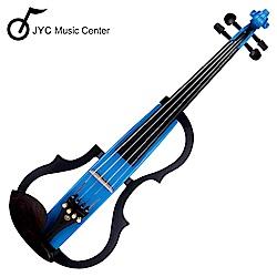 JYC SV-150S靜音提琴(藍色)~雙輸出/三段EQ