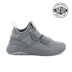 Palladium AX_EON AR SILK ST復古慢跑鞋-女-灰綠