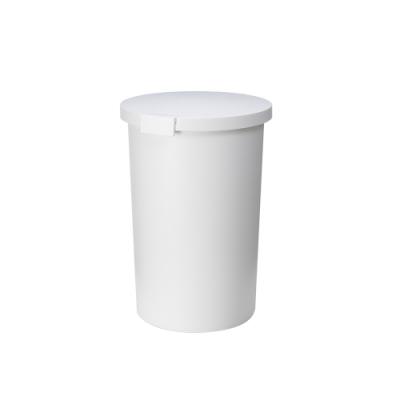 日本岩谷Iwatani 圓形封扣蓋室內/室外防臭垃圾桶-26L
