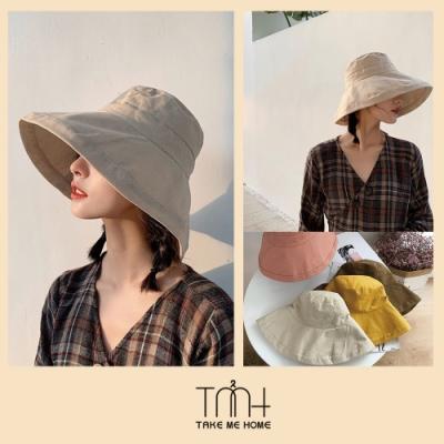 TMH- 韓國空運 寬帽沿漁夫帽-5色