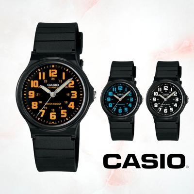 CASIO卡西歐 經典簡約指針錶(MQ-71)三款選