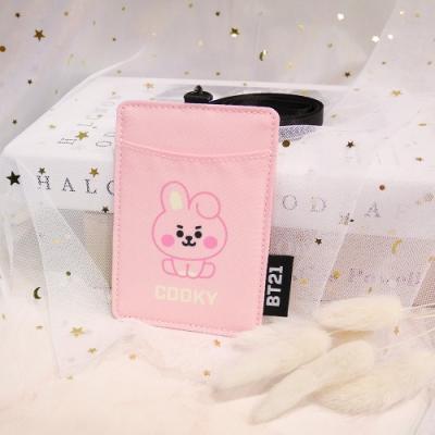 宇宙明星BT21-BABY寶寶卡片套-COOKY-粉紅色 ODBT20D13PK