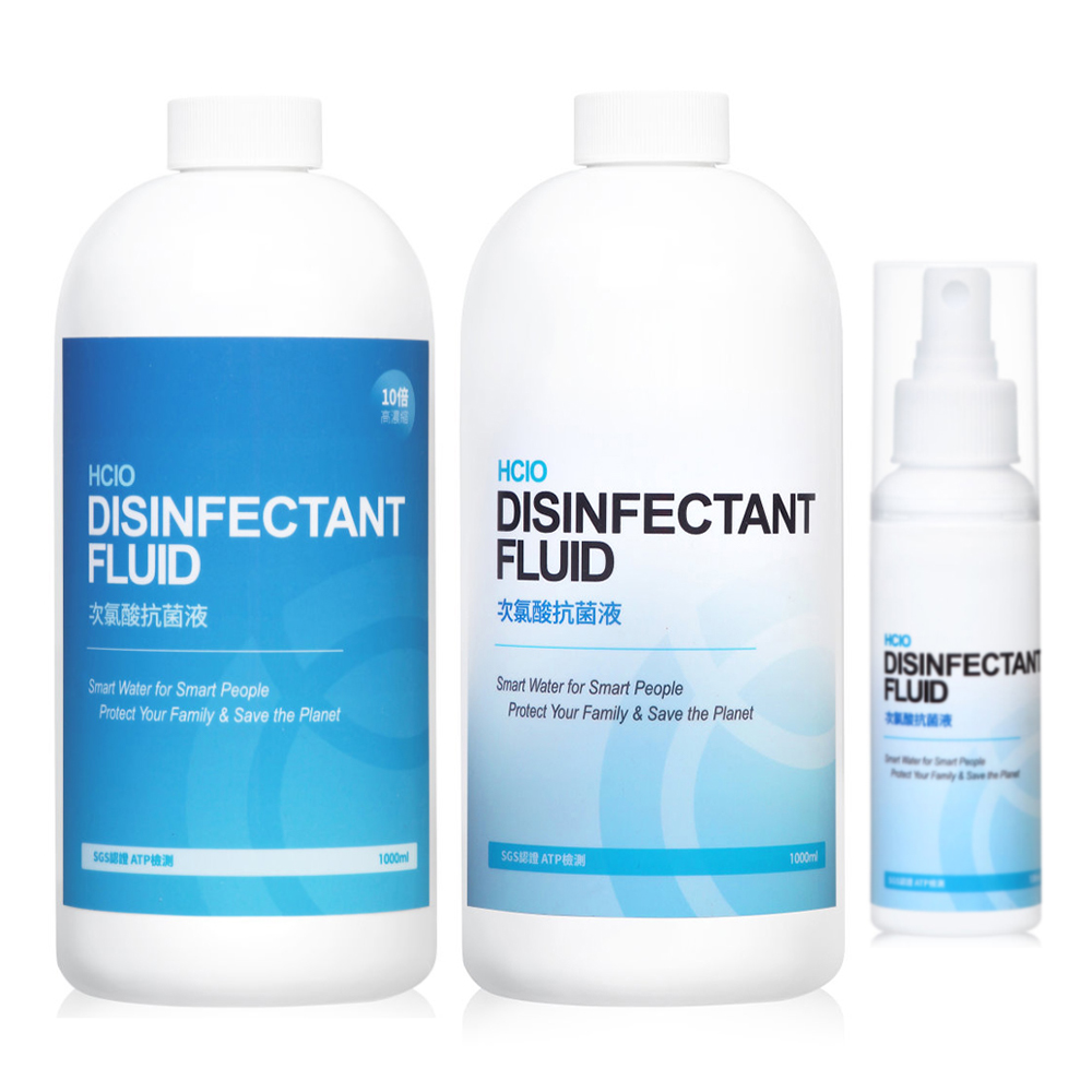 Allclean歐克靈 全方位抗菌消毒清潔液家庭組