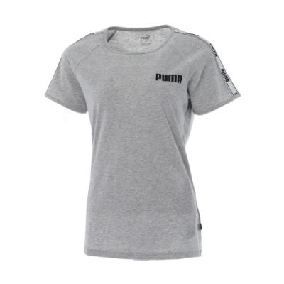 【PUMA官方旗艦】基本系列Tape短袖T恤 女性 58646702