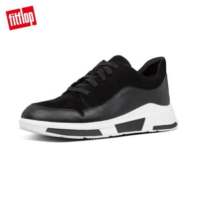 FitFlop FREYA SUEDE SNEAKERS休閒鞋-女(黑色)