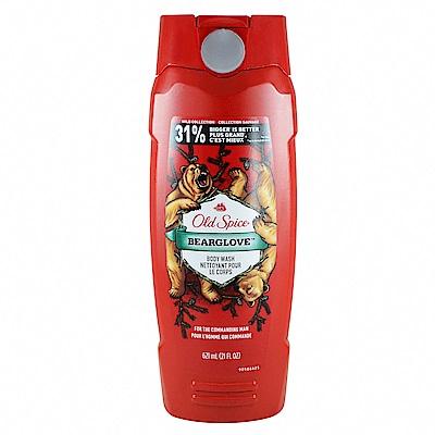 Old Spice 歐仕派 男性沐浴乳-野性系列 #棕熊 Bearglove 621ml