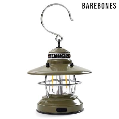 【Barebones】吊掛營燈 Edison Mini Lantern LIV-292 / 橄欖綠