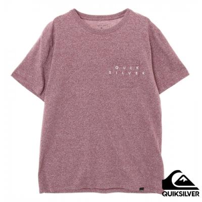 【QUIKSILVER】 DF POCKET BIG LOGO ST 針織T恤 紅