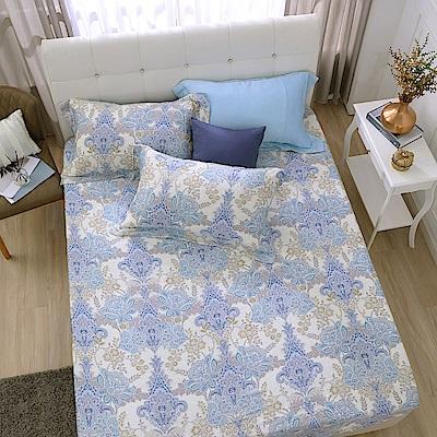 鴻宇 雙人特大床包枕套組 天絲300織 柏拉圖 台灣製