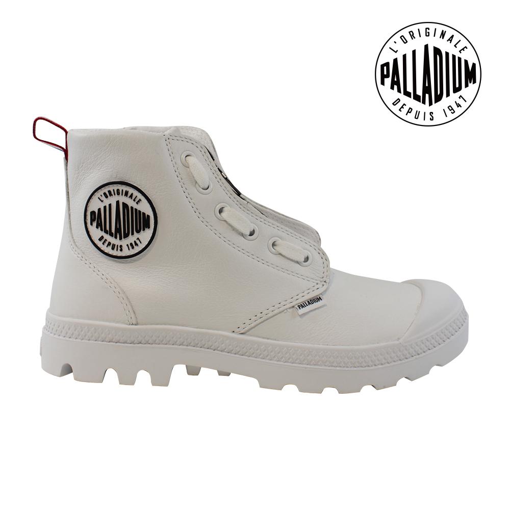 Palladium Pampa Hi Lea Zip TPZ女鞋-白