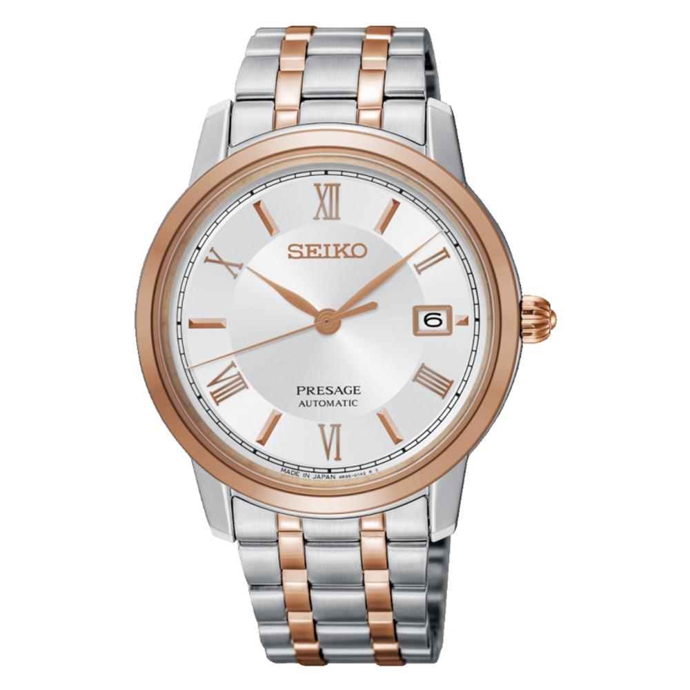 SEIKO 精工PRESAGE機械時尚腕錶/4R35-02J0KS.SRPC06J1