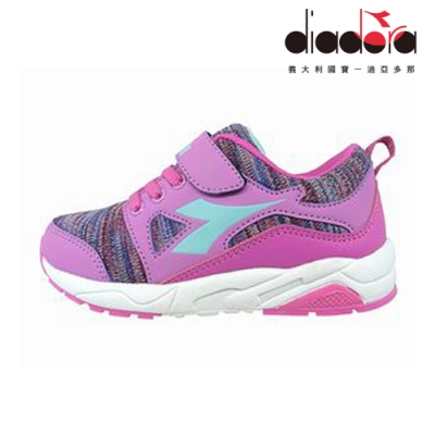 Diadora 歐風運動童鞋 中童 超寬楦 紫 DA9AKC7907