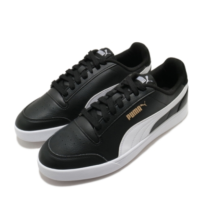 Puma 休閒鞋 Shuffle 低筒 運動 男女鞋 基本款 簡約 舒適 情侶穿搭 黑 白 30966804