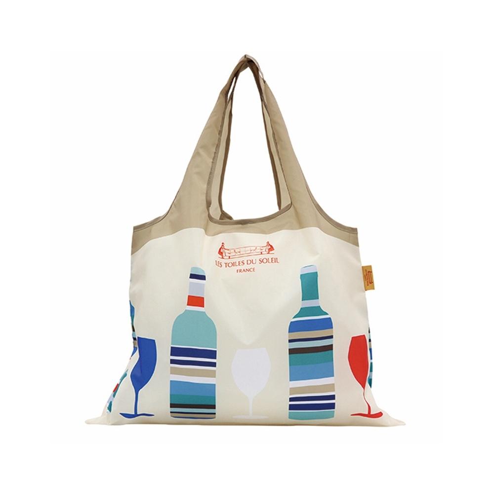 LES TOILES DU SOLEIL法國蘇蕾-兩用購物袋-卡布里島