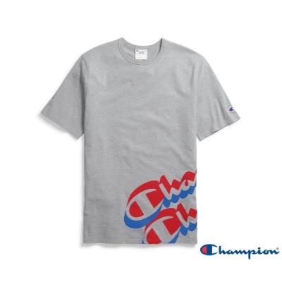 Champion Life草寫Logo短Tee 灰色