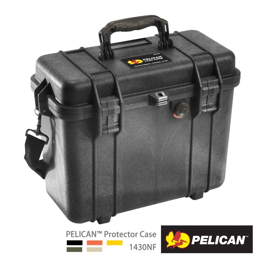 美國 PELICAN 1430NF 氣密箱-空箱(黑)