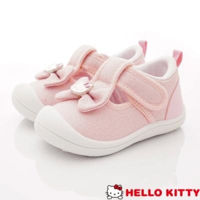 HelloKitty童鞋 蝴蝶結娃娃鞋款 SE19844粉(小童段)