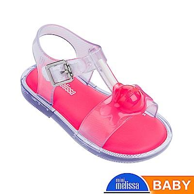 Melissa 融化棒棒糖造型涼鞋-寶寶款-透明