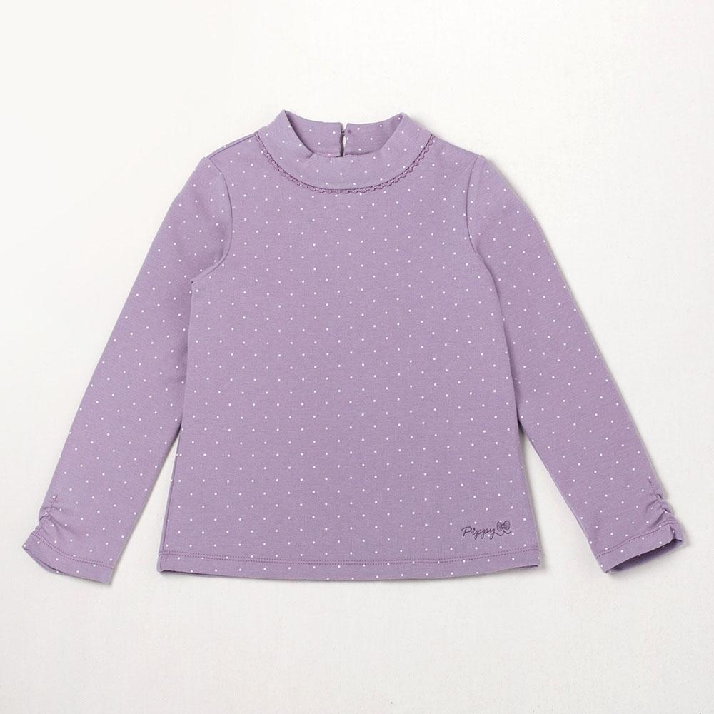 PIPPY 小圓點點針織上衣 紫