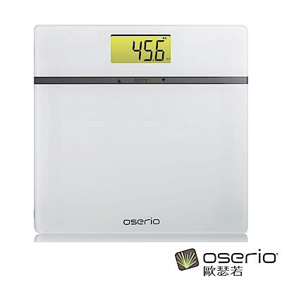 oserio歐瑟若 多功能BMI體重計 (透徹白MES-211)
