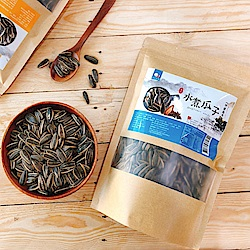 味覺生機 老灶水煮瓜子-竹鹽茴香(400g)