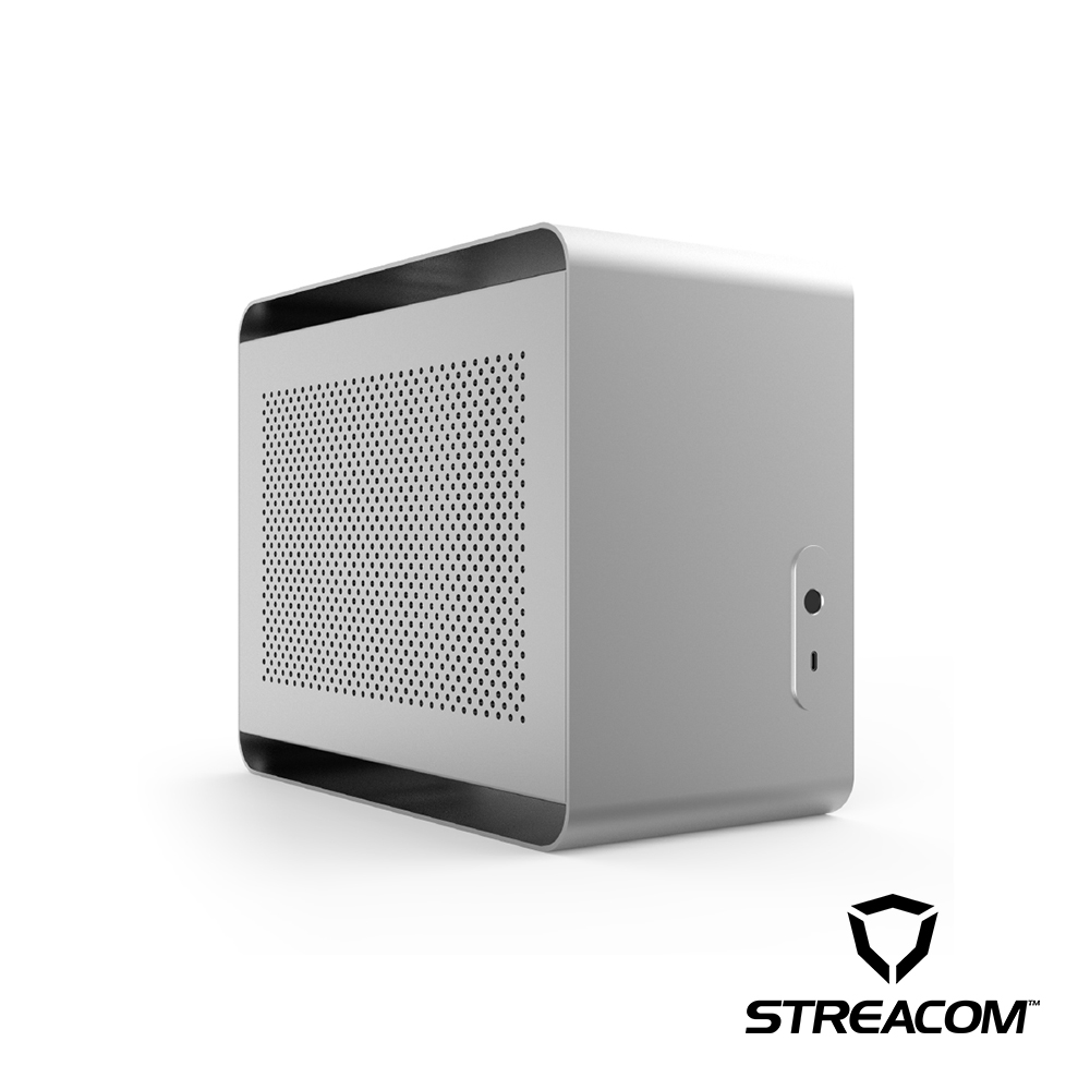 【荷蘭STREACOM】DA2 ITX 個人化創作電腦機殼-消光銀
