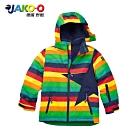 JAKO-O 德國野酷-經典星星雪衣外套-彩條 (兒童滑雪雪衣)