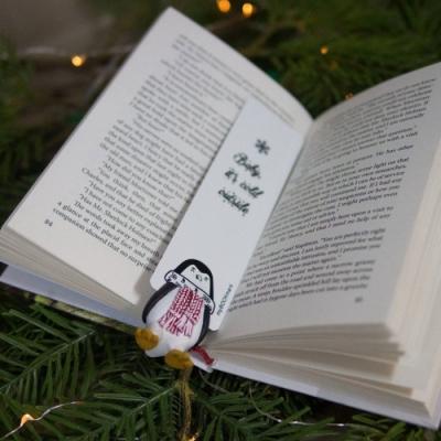 烏克蘭myBookmark-愛閱讀的企鵝書籤
