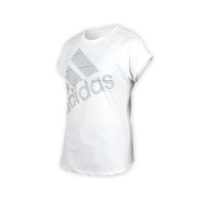 ADIDAS 女 短袖T恤 白黑