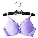 EASY SHOP-唯漾開運 美背款B-D罩成套內衣(貴人紫)