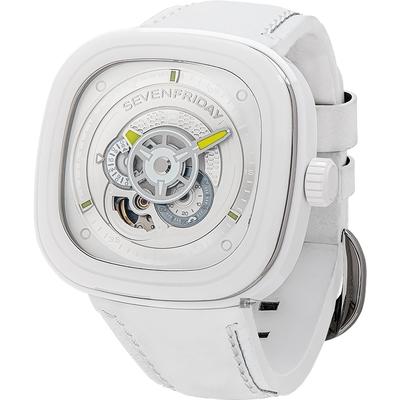 SEVENFRIDAY CAIPI 夏日青檸陶瓷機械錶 P1C/04