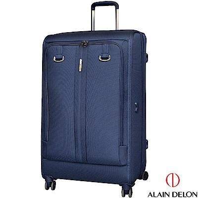 ALAIN DELON 亞蘭德倫 28吋旅者風範系列行李箱(藍)