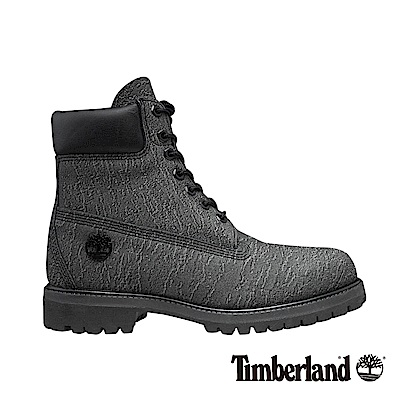 Timberland 男款深灰色 Helcor皮革Icon 6 吋靴