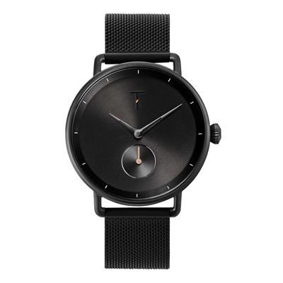TYLOR 復古黑時尚米蘭腕錶(TLAH006)/40mm