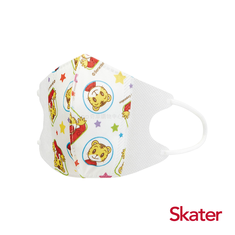 Skater兒童立體口罩-巧虎(10入/包)共6包