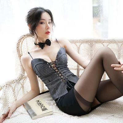 女睡衣-性感包臀私人小秘書-EM衣柔魅姬(黑色)