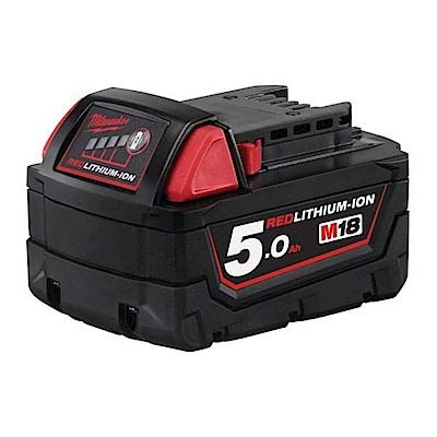 Milwaukee美沃奇 18V鋰電專用電池5.0AH M18B5