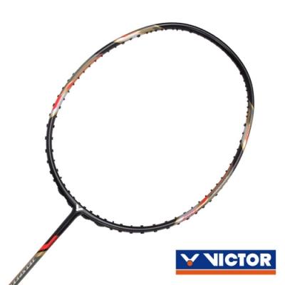 VICTOR 極速球拍-4U 黑紅銀