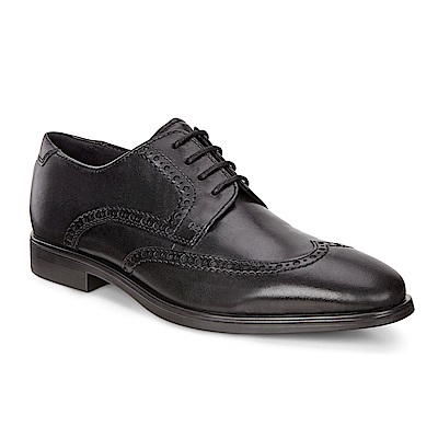 ECCO MELBOURNE 經典紳士雕花正裝鞋 男-黑