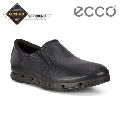 ECCO COOL M 360度環繞防水休閒運動鞋 男鞋-黑色