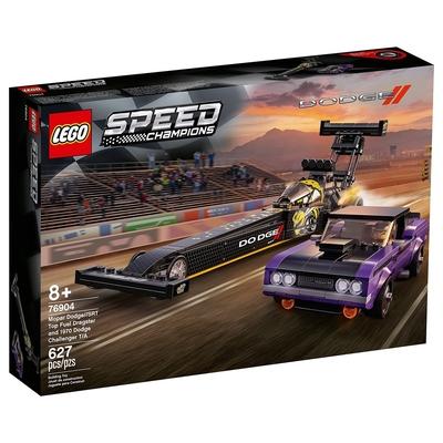 樂高LEGO Speed Champions系列 - LT76904 Mopar Dodge/SRT Top Fuel Dragster and 1970 Dodge Challenger T/A