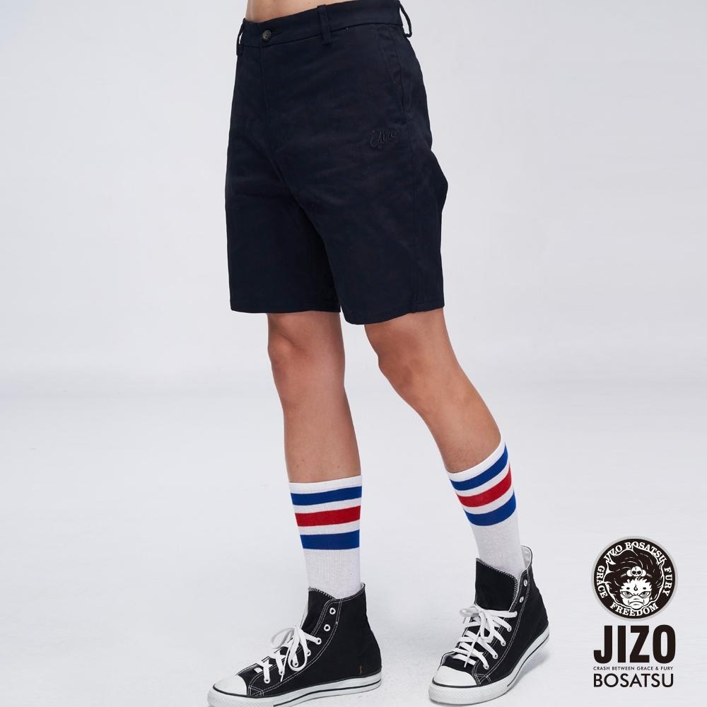 地藏小王  BLUE WAY  - 功能西裝彈性短褲(藏青)